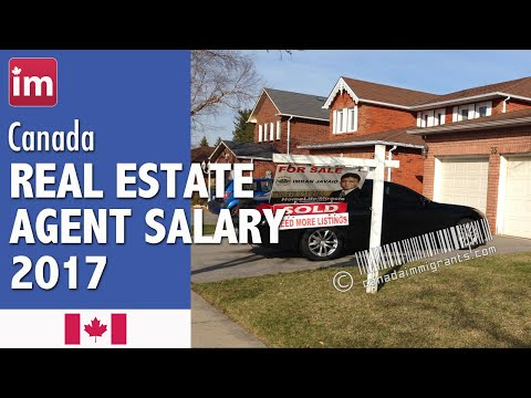 Real Estate Agent Salary in Canada | Jobs in Canada 2017