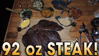 STEAK's 92oz Man vs Steak Undefeated Challenge!!(A&Z #215 – Atlas vs Steak Restaurant's 92 oz Man vs. Steak Challenge!! (UK Tour 2015 – Day #6 / Challenge #5) Hey everybody! It's day 6 of my 2015 ..., 2015-04-22T20:30:00.000Z)
