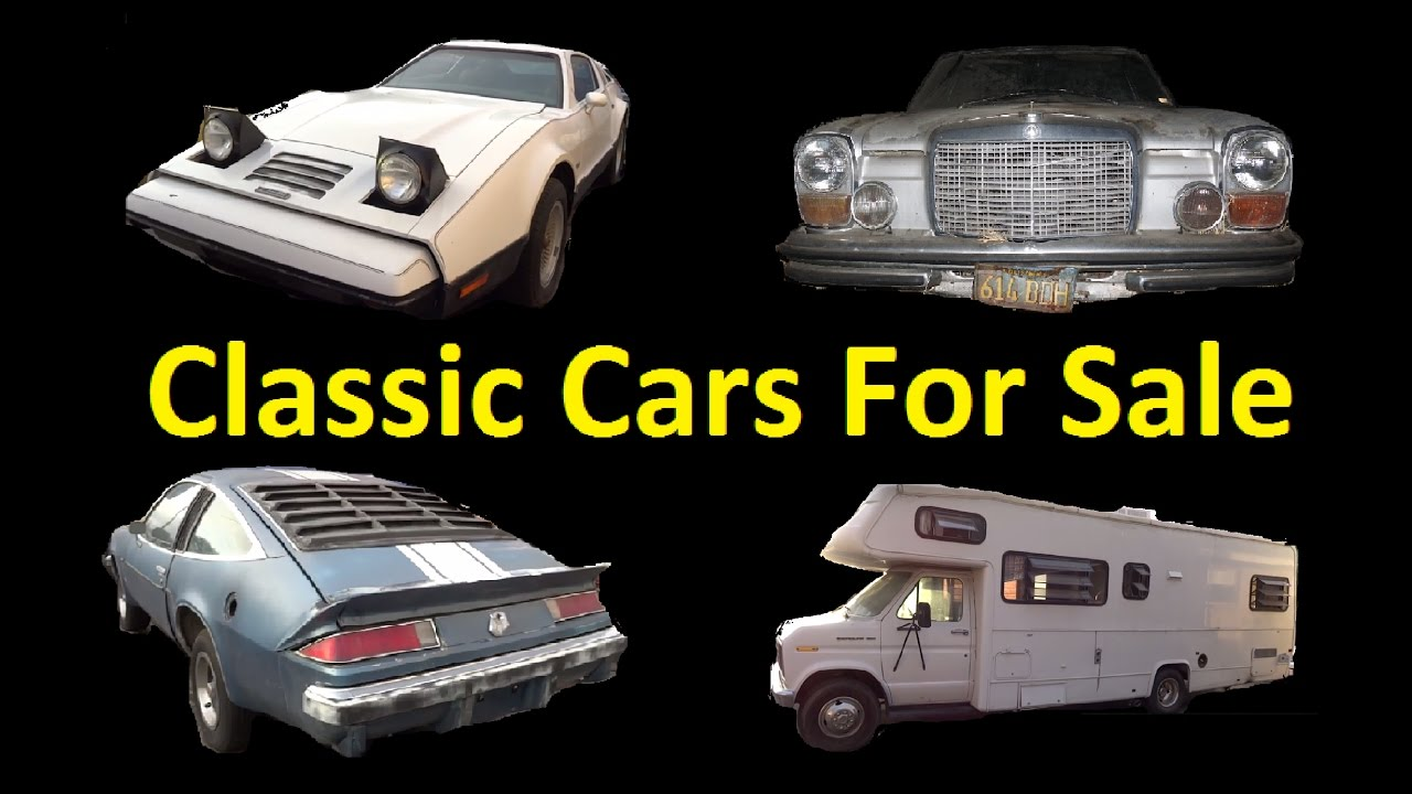 Buy Project Classic Rare Barn Find Stored Cars For Sale Classics