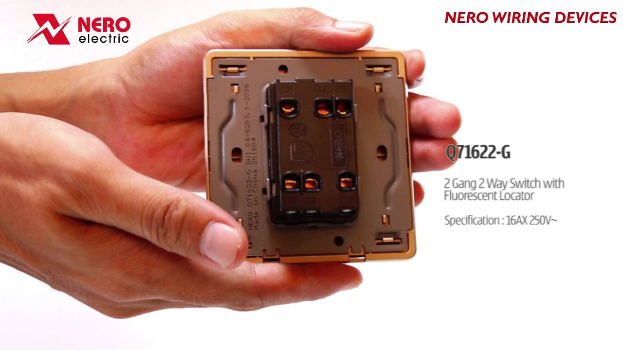 NERO WIRING DEVICES DECORA Q71622-G on