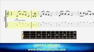 Ukulele Tab - Jingle Bells - Easy Uke