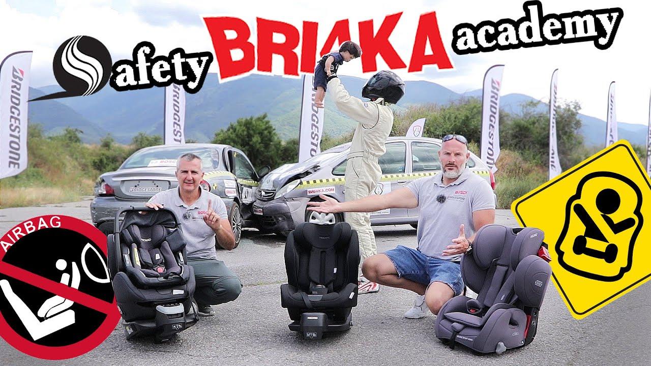 Детска безопасност в автомобила   Child Passenger Safety   Safety Bri4ka Academy