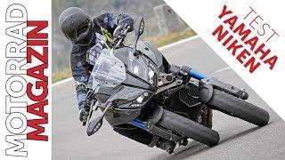 Yamaha Niken 2018 Dreirad - viel schneller und sicherer als ein Motorrad!