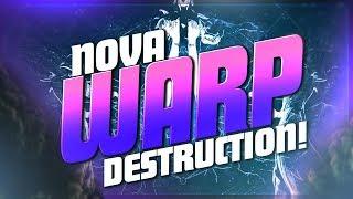 NOVA WARP DESTRUCTION! 45 KILL GAME (Destiny 2 PvP Full Match)