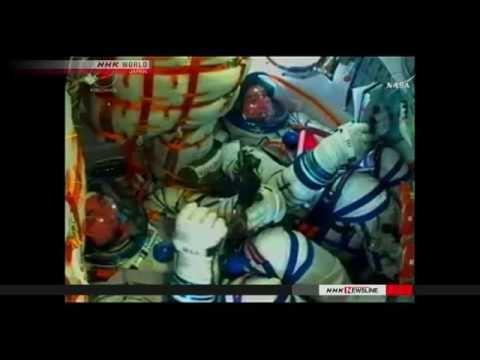 Onishi begins trip to ISS aboard Soyuz