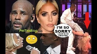 Lady Gaga Apologizes for R. Kelly Collab, Takes Responsibility for TWiSTED thoughts she Had