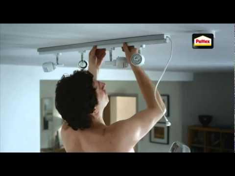 Adesivo collante colla millechiodi pattex spot pubblicitario