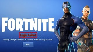 FORTNITE *Login Failed Network Failure  When Attempting To Check Platform Restrictions* PS4