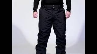 XTM Glide Mens Plus Size Ski Pants Black