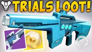 Destiny 2: the best trials weapons! amazing perks & new flawless trials of the nine rewards
