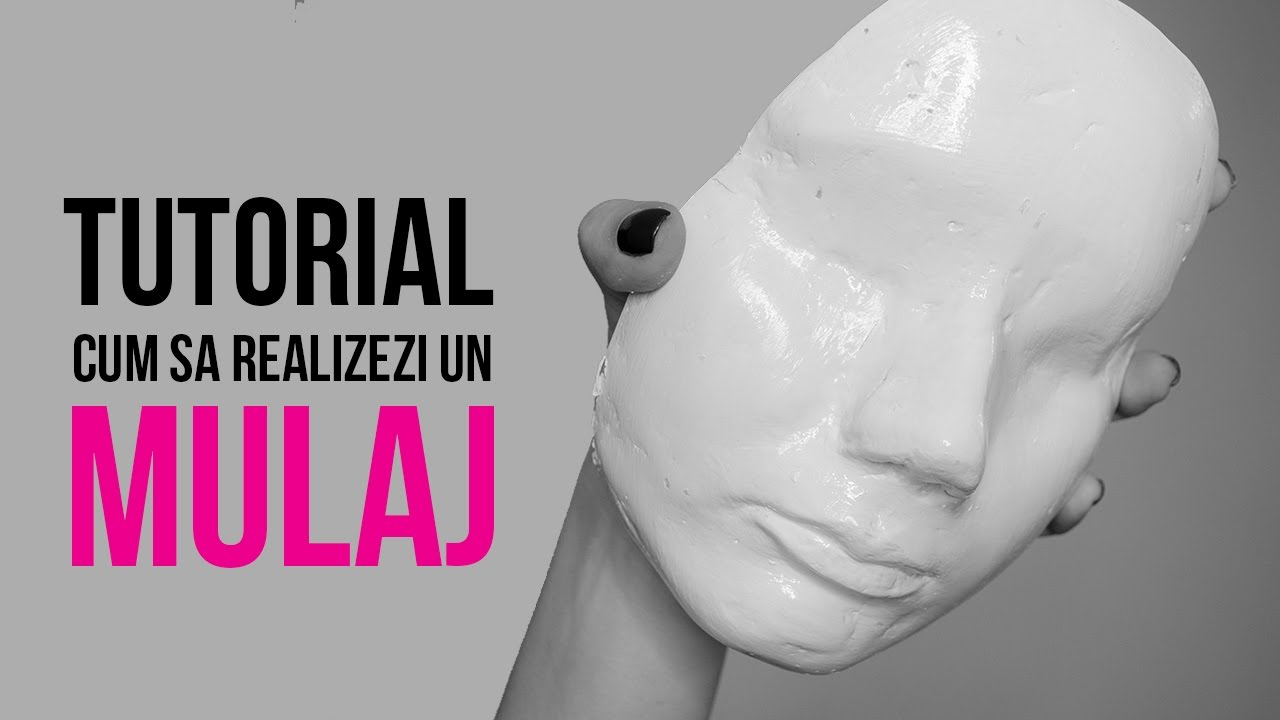 TUTORIAL: Cum sa realizezi un mulaj / FACE CAST tutorial | Elena Nedelcu Makeup