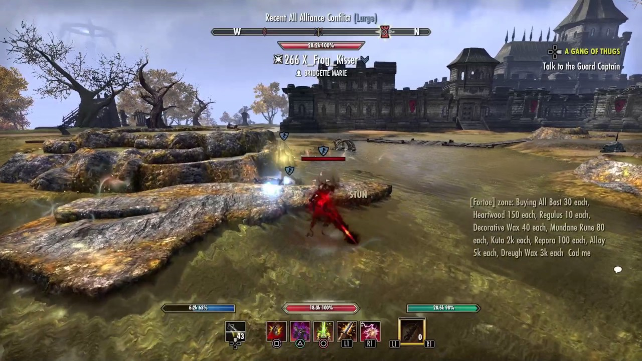 ESO: pvp StamBlade one shot with 2h ultimate (THE M O A B build) Español