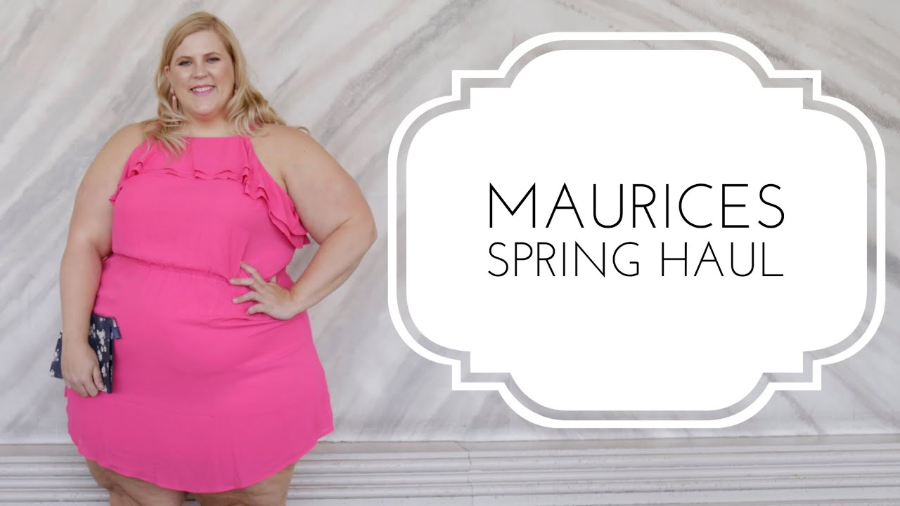 Maurices Affordable Plus Size Spring Haul: Denim, Dress and More!
