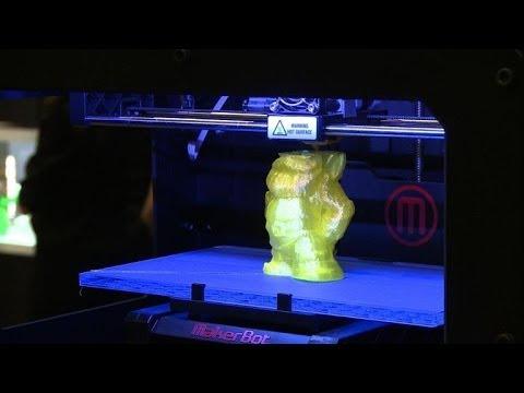 Les imprimantes 3D font leur show à Paris