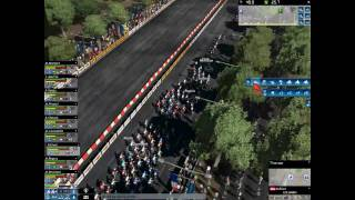 【HD】 Pro Cycling Manager 2010 - GAMEPLAY - Champs Elysees
