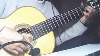 Hận tình trong mưa - Guitar