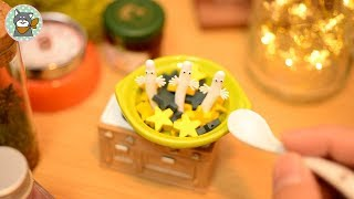 How to make Hattifatteners soup [MINIATURE/STOPMOTION/COOKING TOY/ASMR]
