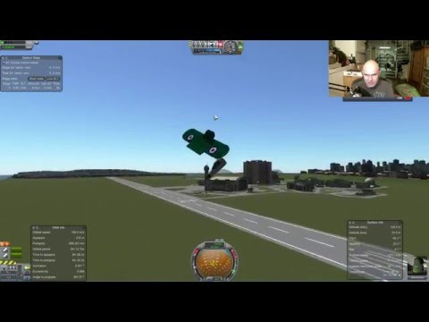 Kerbal Parafoil Experiments - Livestream - March 1st - KSP & SuperHot