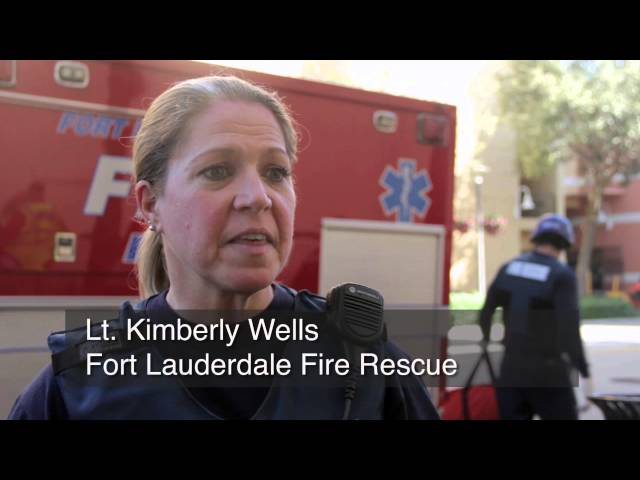 Paramedics prepare for the worst amid 'shooting' at Fort Lauderdale