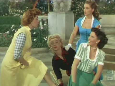 Ann Miller song & dance from 'Two Tickets to Broadway' (1951)