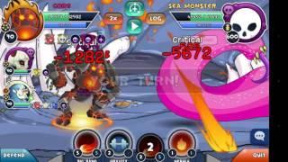 Curio Quest : Sea Monster Lv 600