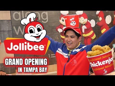 Jollibee Grand Opening In Tampa Bay Of Florida