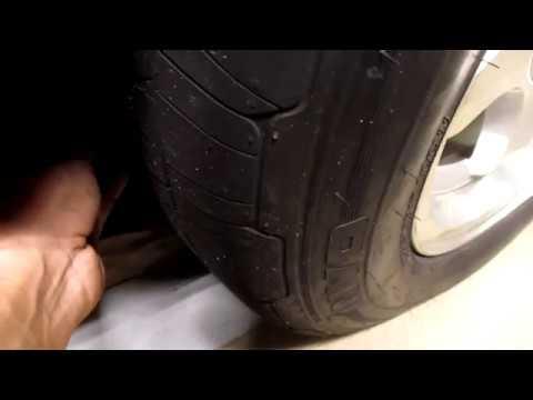 Tire tread depth gauge. Ghetto Style