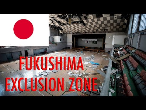 ABANDONED FUKUSHIMA NUCLEAR DISASTER - ENTIRE TOWN EMPTY