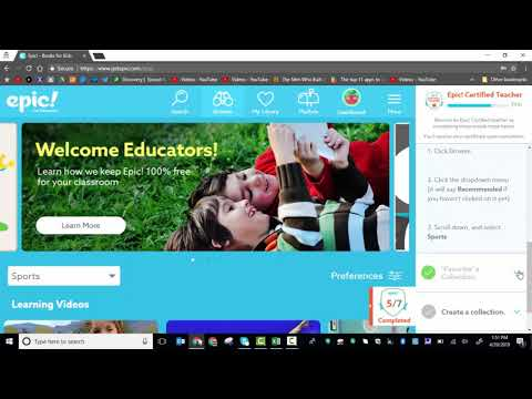 Epic! How to become an Epic! certified educator - YouTube