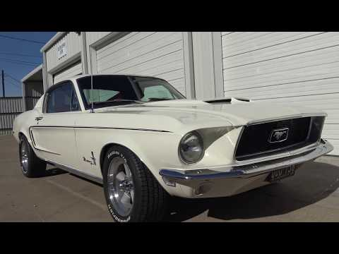 1968 Ford Mustang Fastback in 4K