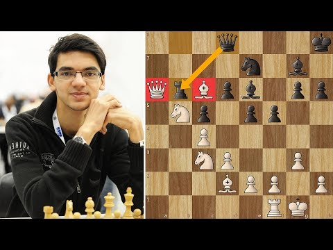 Giri Sacrifices the Queen! Yes, you read that correctly :)