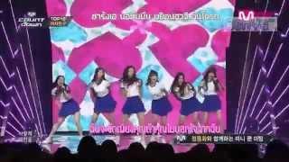 [คาราโอเกะ-ซับไทย]GFriend-Glass Bead (live)
