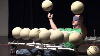 Michael Kettman World-Record Basketball Spinner