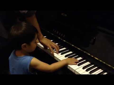 """Toddler takes over Coldplay """"Clocks"""" (How to - parody)"""