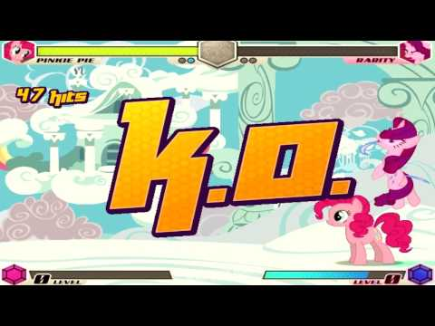 [MLP] Fighting Is Magic Combo Exhibition