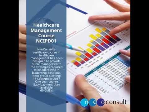Healthcare Management Course