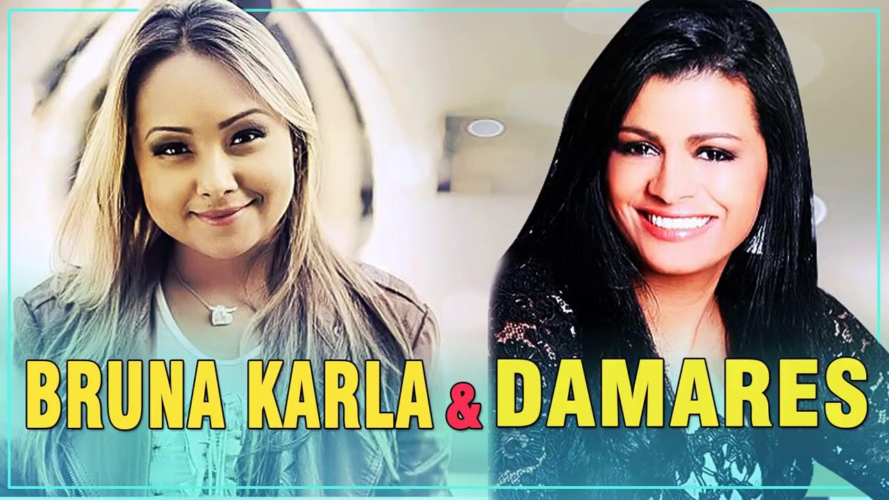 Damares & Bruna Karla As Melhores Música Gospel 2017   Melhores músicas Gospel Mais Tocadas 2017