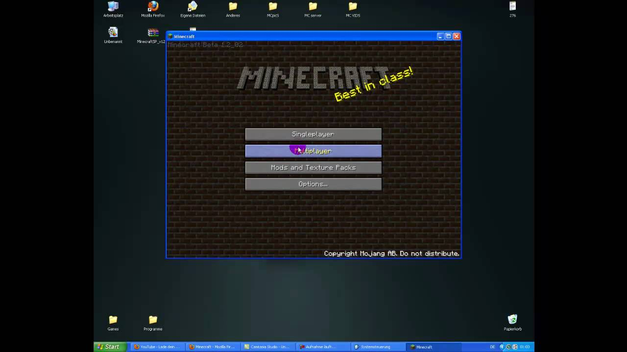 Minecraft Server Erstellen Windows XP YouTube - Minecraft server erstellen windows 7