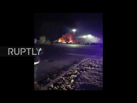 USA: Multiple casualties reported as plane crashes in Elko, Nevada