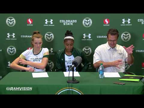 Colorado State Volleyball vs. Northern Colorado: Post Game Press Conference