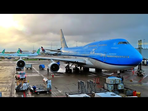 FLYING THE DUTCH QUEEN OF THE SKIES | KLM 747-400 | AMSTERDAM - LOS ANGELES | ECONOMY COMFORT