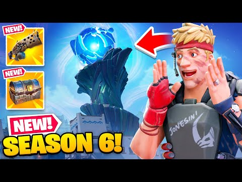 *NEW* Fortnite SEASON 6 Everything NEW! (Crafting, Weapons, Map Changes + MORE)
