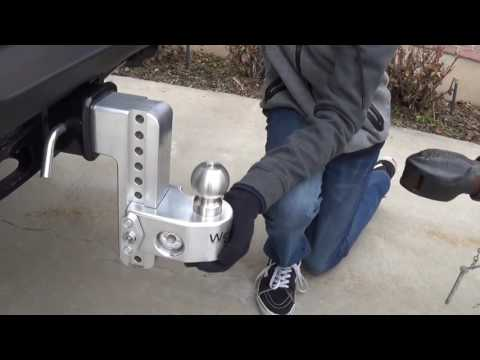 Weigh Safe Hitch on a 2017 Super Duty with 3 Inch Receiver Hitch