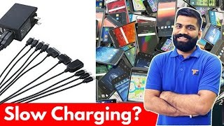 Charger or Cable? Who is at Fault? Smartphone Charging!!!