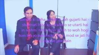 Iss mod se jate hain - Najma & Rajiv -Toronto Karaoke Club