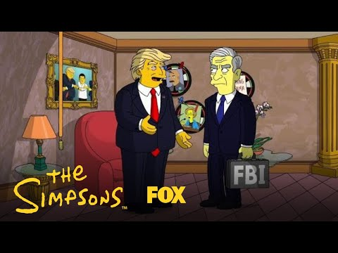 Mueller Meets Trump | Season 29 | THE SIMPSONS
