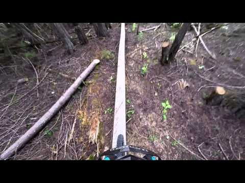Middle and Lower Dewdney Trail Christina Lake BC Aug 10 Pt 1