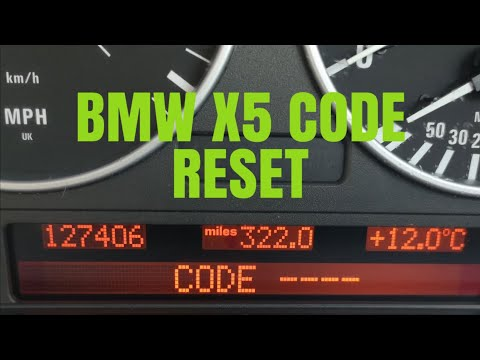 BMW EMERGENCY CODE RESET