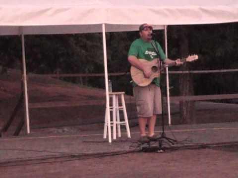 Josh Stevens singing Dirt Road Anthem