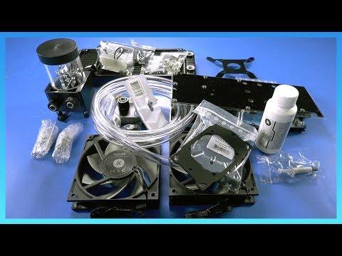 EK Fluid Gaming A240 Review: CPU-Only Loop vs  H100iV2, EVGA